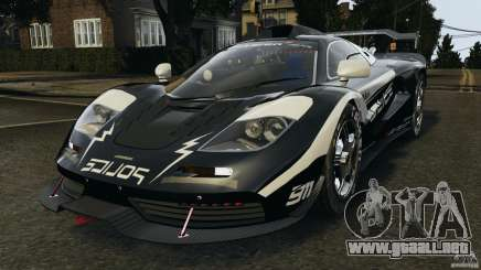 McLaren F1 ELITE Police para GTA 4