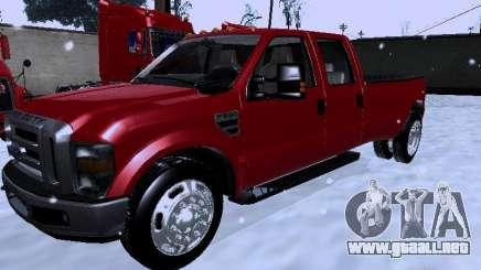 Ford F-350 Super Duty para GTA San Andreas