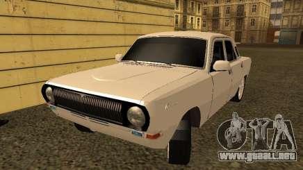 GAZ 24-10 Volga blanco para GTA San Andreas