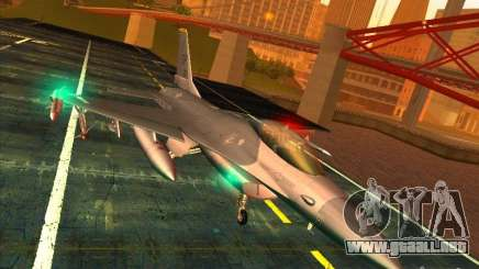 F-16C Fighting Falcon para GTA San Andreas