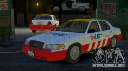Ford Crown Victoria for FlyUS Car para GTA 4