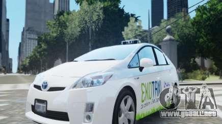Toyota Prius EKO TAXI (Hrvatski taxi) para GTA 4
