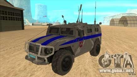 GAS-23034 SPM-1 tigre para GTA San Andreas