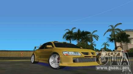 Mitsubishi Lancer Evo para GTA Vice City