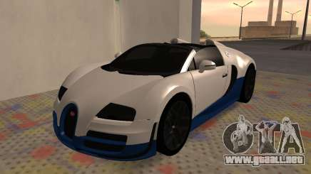 Bugatti Veyron Grand Sport Vitesse para GTA San Andreas