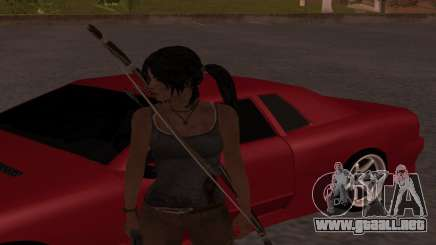 Skin Tomb Raider 2013 para GTA San Andreas