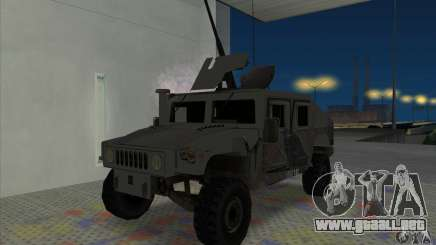 Humvee of Mexican Army para GTA San Andreas