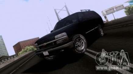 Chevrolet Tahoe 2003 SWAT para GTA San Andreas