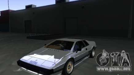 Lotus Esprit Turbo para GTA San Andreas