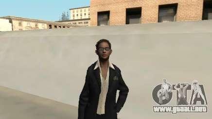 Piel femenina del FBI. para GTA San Andreas