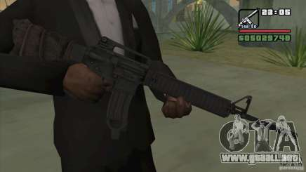 M16A4 from BF3 para GTA San Andreas