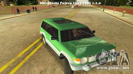 Mitsubishi Pajero 1993 para GTA Vice City