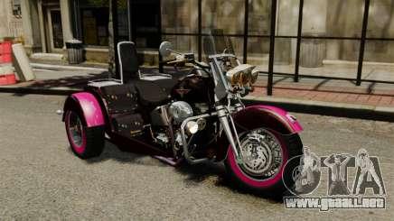 Harley-Davidson Trike para GTA 4