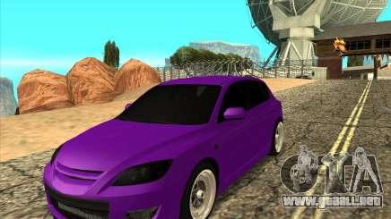 Mazda Speed 3 Stance para GTA San Andreas