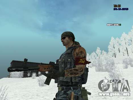 Comando para GTA San Andreas tercera pantalla