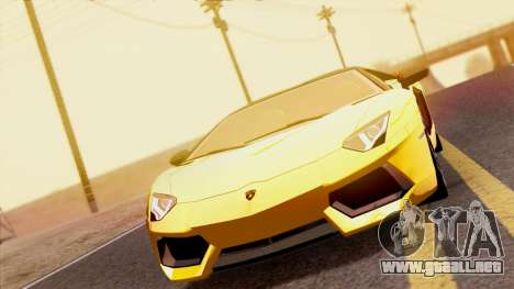Lamborghini Aventador LP760-2 2013 para la visión correcta GTA San Andreas