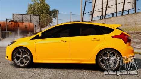 Ford Focus ST 2013 para GTA 4 left