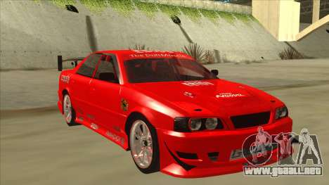 Toyota Chaser JZX100 DriftMuscle para GTA San Andreas left