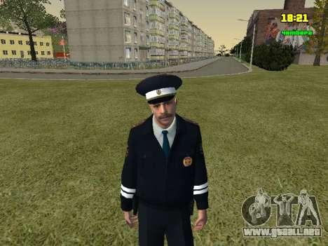 Oficial de policía de tráfico ruso para GTA San Andreas
