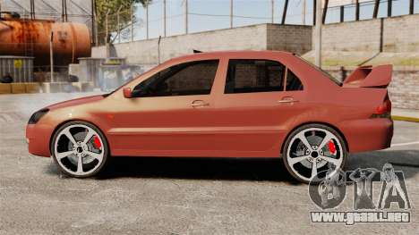 Mitsubishi Lancer Evolution IX 1.6 para GTA 4 left