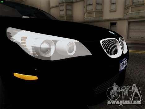 BMW M5 Hamann para visión interna GTA San Andreas