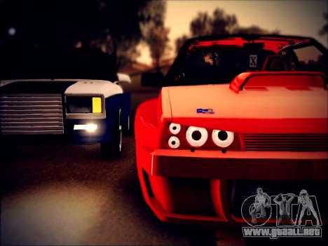 VAZ 21093 diablo para GTA San Andreas vista posterior izquierda