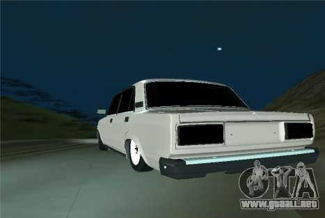 VAZ 21053 para GTA San Andreas vista posterior izquierda