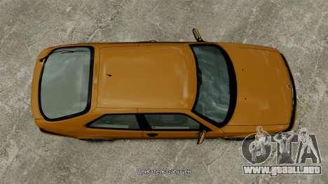 Saab 9-3 Aero Coupe 2002 para GTA 4 visión correcta