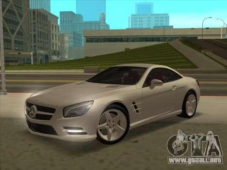 Mercedes-Benz SL500 2013 (ImVehFt v2.02) para vista inferior GTA San Andreas