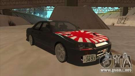 Nissan Skyline ER34 Street Style para GTA San Andreas left