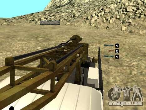 Perforación de gas 66 para la vista superior GTA San Andreas