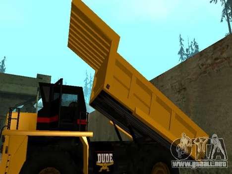 Dumper nuevo para vista lateral GTA San Andreas