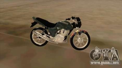 Yamaha YBR para GTA San Andreas left