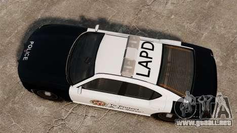 Buffalo policía LAPD v2 para GTA 4 visión correcta