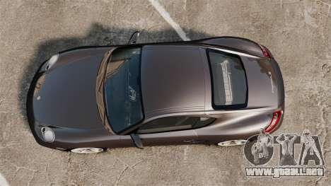 Porsche Cayman S para GTA 4 visión correcta