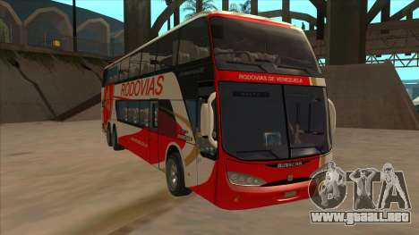 Marcopolo DD800 v3 para GTA San Andreas left