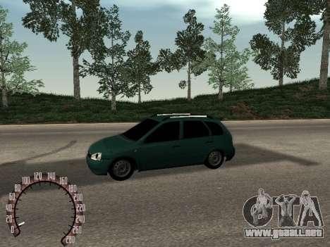 1117 Lada Kalina para GTA San Andreas left
