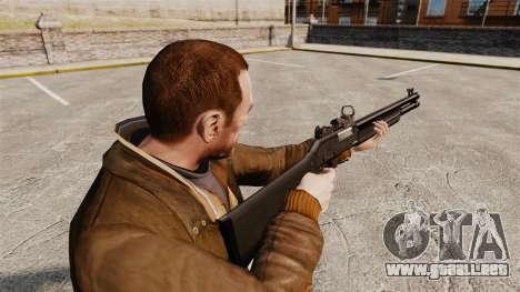 Táctica escopeta Fabarm SDASS fuerzas Pro v3 para GTA 4 segundos de pantalla