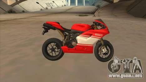 Ducatti Desmosedici RR 2012 para GTA San Andreas left