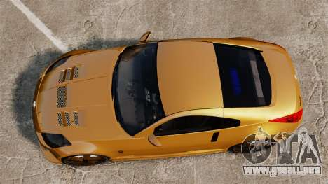 Nissan 350Z Tuning para GTA 4 visión correcta