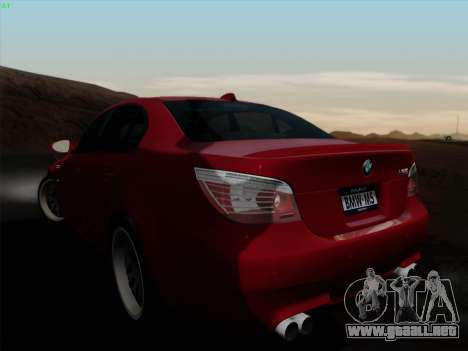 BMW M5 Hamann para GTA San Andreas left