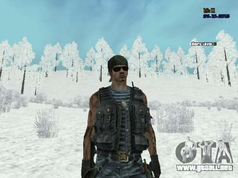 Comando para GTA San Andreas sucesivamente de pantalla