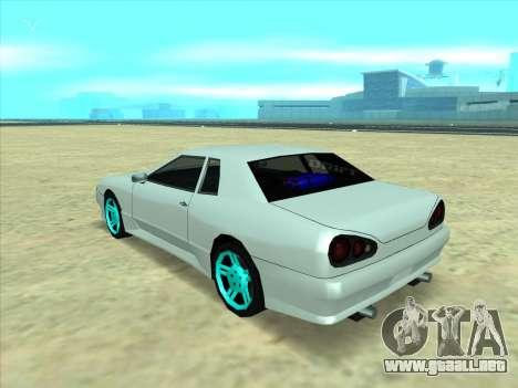 Drift elegy by KaMuKaD3e para GTA San Andreas vista posterior izquierda