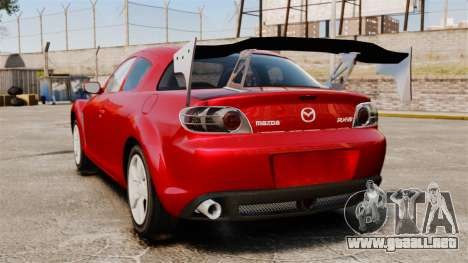 Mazda RX-8 Light Tuning para GTA 4