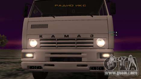 KAMAZ-54112 para visión interna GTA San Andreas