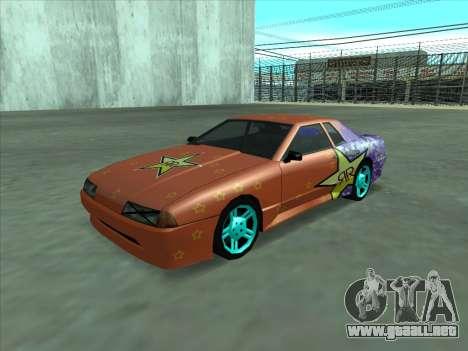 Drift elegy by KaMuKaD3e para la vista superior GTA San Andreas