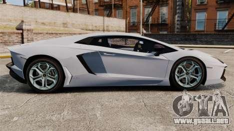 Lamborghini Aventador LP700-4 2012 EPM para GTA 4 left