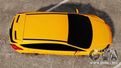 Ford Focus ST 2013 para GTA 4 visión correcta
