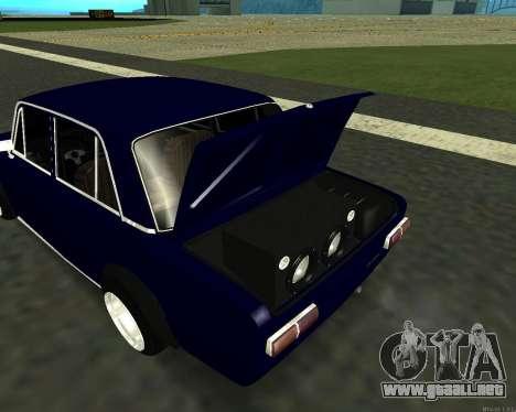 VAZ 2101 bebé v3 para visión interna GTA San Andreas