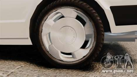 Volkswagen Passat TS 1981 para GTA 4 vista hacia atrás